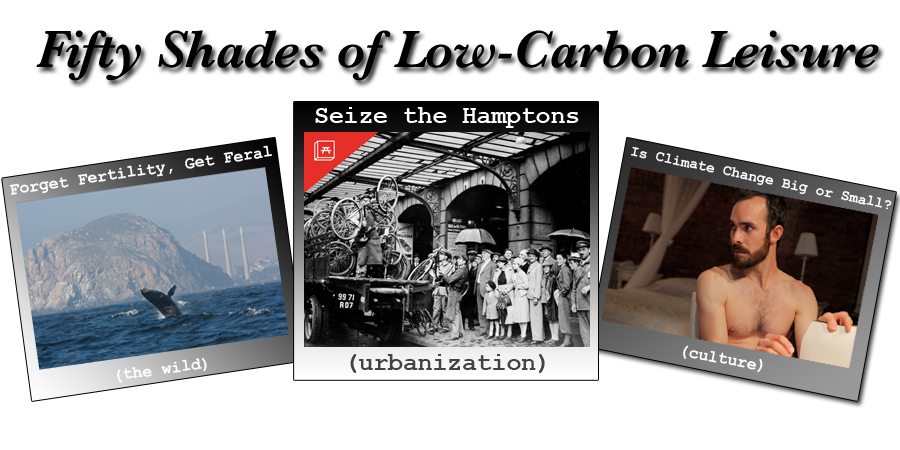 Fifty Shades of Low-Carbon Leisure